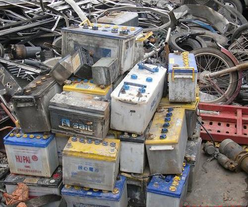 旧电瓶回收