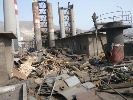 常州废厂拆除